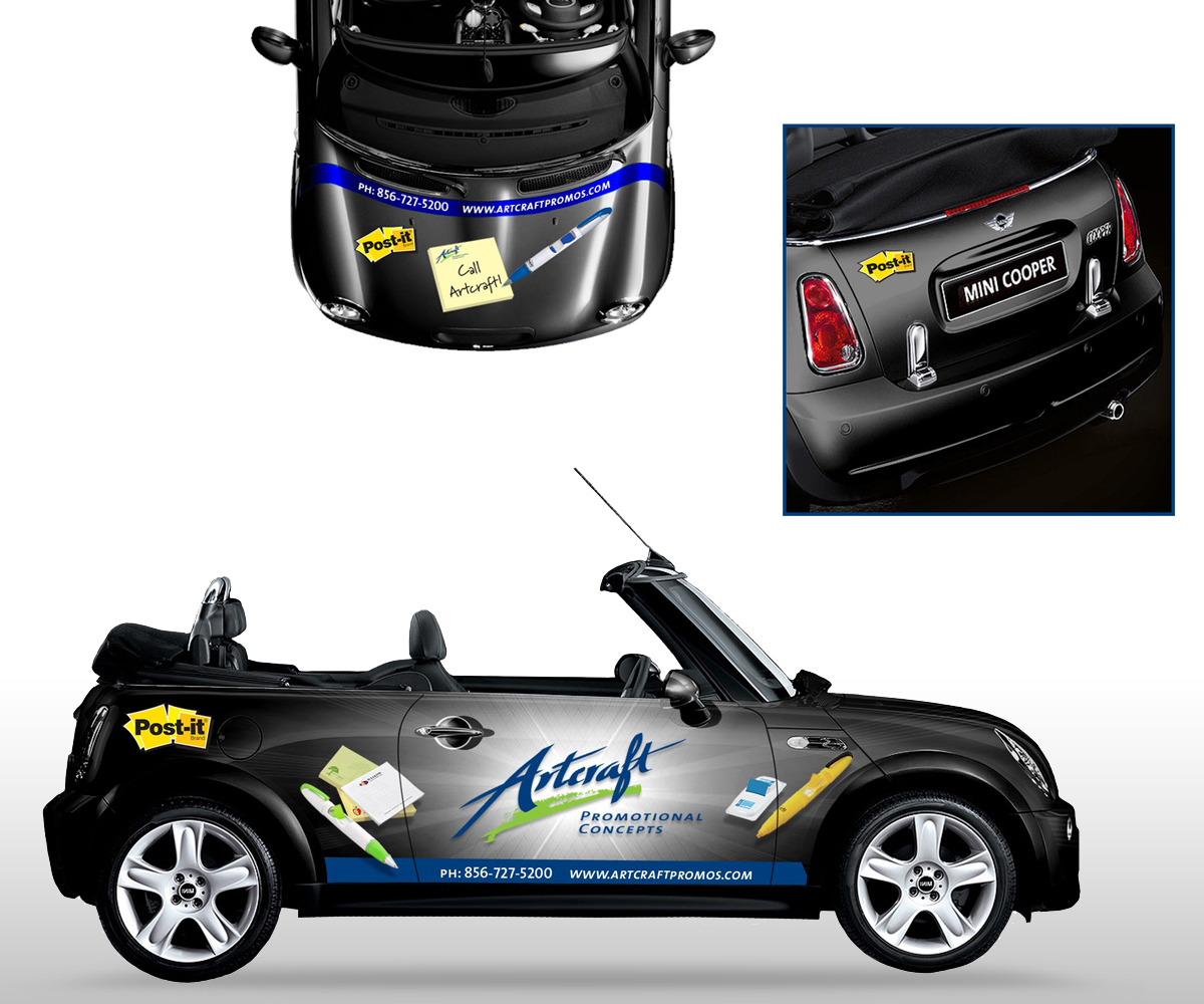 Artcraft Promotional Concepts Mini Cooper Design