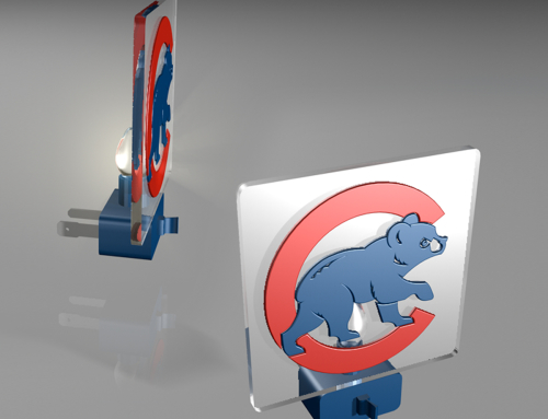 Chicago Cubs Night Light Designs