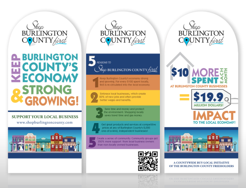 Shop Burlington County First Tent Cards