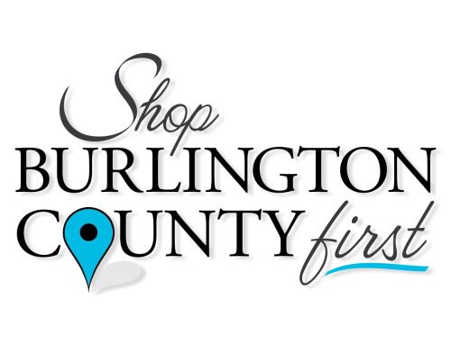 Shop Burlington County First Logo